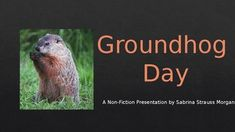https://www.teacherspayteachers.com/Product/FREEBIE-Groundhog-Day-A-Non-Fiction-Presentation-2974507 This is a free PowerPoint presentation about groundhogs and Groundhog Day.  The information is non-fiction.  This goes great as a lead in to my Groundhog Day Literacy & Math Packet - available in my store!I hope you enjoy this free download and visit my store to see my other products!