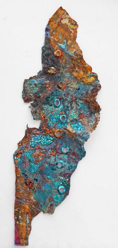 Japanese Embroidery Silk Sue Hotchkis Fibre Artist stitched abstract art: Verdigris Mixed media, embroidered H x W Art Fibres Textiles, Textile Fiber Art, Textile Artists, Embroidery Fabric, Fabric Art, Machine Embroidery, Abstract Embroidery, Embroidery Tattoo, Art Texture