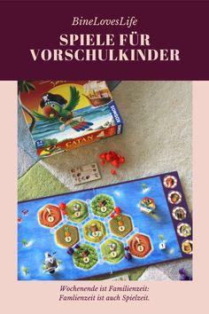 Diese Spiele begeistern Vorschulkinder! Games For Preschoolers, Family Games, Kindergarten, Life