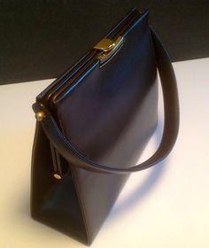 Vintage Dorian leather Kelly purse