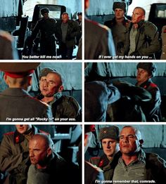 """""""I'm gonna get all """"Rocky IV"""" on your ass"""" - Mick Rory #LegendsOfTomorrow"""