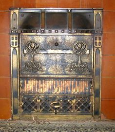 Antique Ray-Glo Gas Ceramic Fireplace Insert Heater | Steve ...