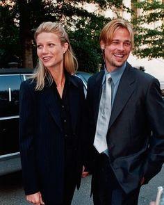 Brad Pitt and Gwyneth Paltrow in 1990.