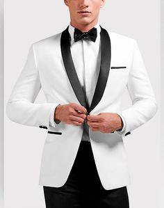 Egara White Slim Fit Dinner Jacket - Men's Sport Coats | Men's Wearhouse