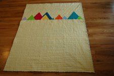 Free Tutorial - Rocky Mountain Range Quilt by Anne