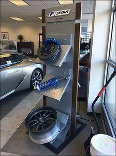 1e3ede5e93c5 Lexus F-Sport Auto Accessories Assortment Display