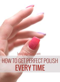 How to Get Perfect Manicure at Home | DIY Beauty Skincare and Health Tips
