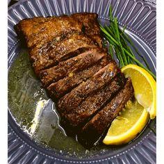 Air Fryer, Grilled Marinated Flank Steak - Fork To Spoon Balsamic Flank Steak, Flank Steak Tacos, Marinated Flank Steak, Flank Steak Recipes, Beef Recipes, Ninja Recipes, Air Fryer Dinner Recipes, Air Fryer Recipes Easy, Steak Dinner Sides