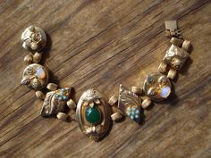 Vintage 1960s Victorian Revival Bracelet Slide by bycinbyhand, $65.00