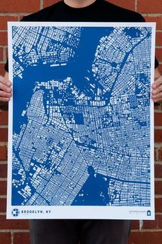 nerd alert! amazing figure ground maps (on prints, totes and tee's) from city fabric!! woot.