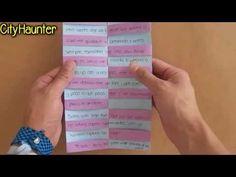 Carta: Texto oculto // Cartas para San Valentin - YouTube