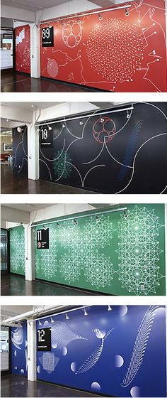 Carmichael Lynch wall graphics