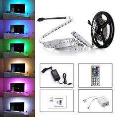 Oferta: 13.99€ Dto: -52%. Comprar Ofertas de Simfonio Tiras LED Iluminación 5m 150leds 5050 SMD RGB Multicolor Kit Completo con Control remoto de 44 botones y fuente de a barato. ¡Mira las ofertas!