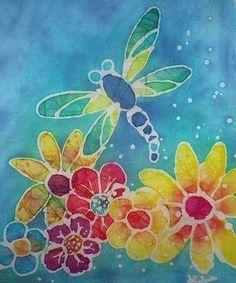 Dragonfly batik