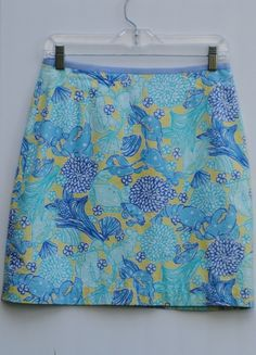 Super cute Lilly Pulitzer Skirt - ONLY $16.99! Go to pinkelephantsonline.com before it's gone :)