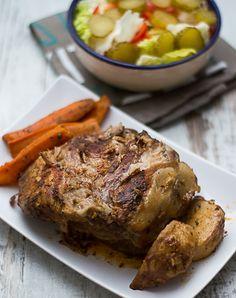 karkówka z wolnowaru Multicooker, Slow Cooker Recipes, Crockpot, Steak, Pork, Turkey, Baking, Drinks, Cook