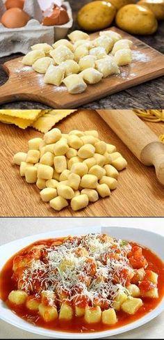 Cooking Games For Kids Gnocchi, I Love Food, Good Food, Yummy Food, Cooking Time, Cooking Recipes, Food Porn, Salty Foods, Diy Food