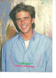 Charlie Schlatter, Chris Wolf, Full Page Double Sided Pinup