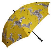Classic Scalamandre zebras umbrella- I am so there. Umbrella Art, Under My Umbrella, Fancy Umbrella, Transparent Umbrella, Yellow Umbrella, Moda Natural, Umbrellas Parasols, Singing In The Rain, Yellow Submarine