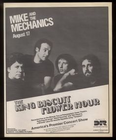 Mike + The Mechanics King Biscuit Photo:  This Photo was uploaded by madman_photos. Find other Mike + The Mechanics King Biscuit pictures and photos or u...