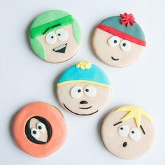 cookizm, şeker hamuru, kurabiye, cookies, iyi ki doğdu, cookie, birthday, doğumgünü, southpark hediye, gift, tasty, leziz, love, tasarım, design, Cartman, Kenny, Kyle, Stan, Butters