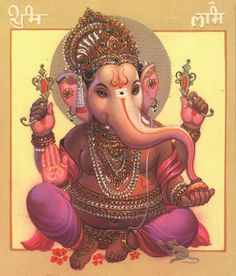 Shri Ganesh! - Although he is known by many attributes, Ganesha's elephant head makes him easy to identify.[6] Ganesha is widely revered as the remover of obstacles,[7] the patron of arts and sciences and the deva of intellect and wisdom.[8]