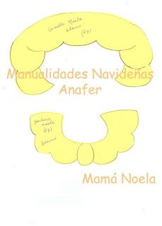 Manualidades Anafer: Moldes Christmas Crafts, Christmas Decorations, Christmas Ornaments, Felt Stocking, Letters, How To Plan, Symbols, Cards, Blog