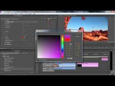 Adobe Premiere Pro CS6 Tutorial | Generate Effects | Infiniteskills - YouTube