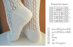 xxx Fair Isle Knitting Patterns, Knitting Paterns, Lace Knitting, Knitting Stitches, Knitting Socks, Lace Socks, Crochet Socks, Knit Or Crochet, Lots Of Socks