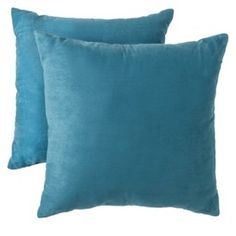 """Room Essentials® Suede Pillow 2-Pack (18x18"""") : Target Mobile"""