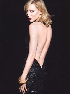 Another skin reference with Cate Blanchett …