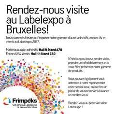 French invitation to LabelExpo 2017 Invitations, French, Being Happy, French People, French Language, France, Invitation