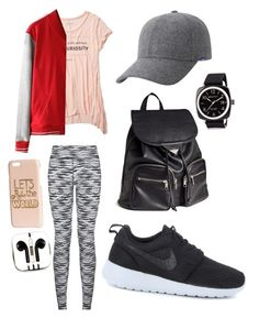 """""""Untitled #17"""" by sophiemily-1 on Polyvore featuring Abercrombie & Fitch, NIKE, H&M, Keds, PhunkeeTree and Briston"""