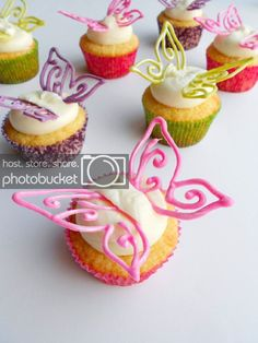 Pixie Dusted Fairy Cupcakes - Confessions of a Confectionista