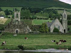 Baltinglass Abbey in County Wicklow, Ireland