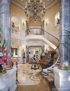 Концепция частной виллы в Катаре. Итальянские традиции в интерпретации египетского архитектора.