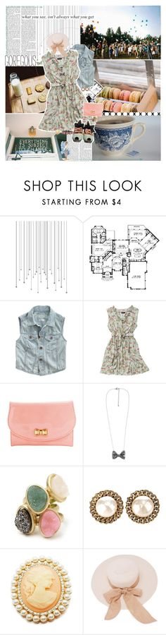 """""""#103. All I ever wanted was the world."""" by xobriealexandra ❤ liked on Polyvore featuring Madewell, Joe Browns, Forever 21, Chanel, Fantasy Jewelry Box, color blocking, denim vest, food, sundress and girly"""
