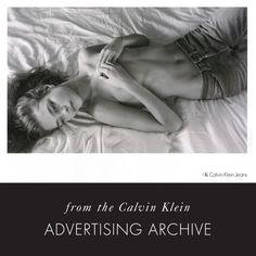 Natalia Vodianova per Calvin Klein Jeans Autunno campagna 2003 da Mario Sorrenti