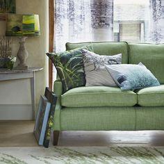 spring green sofa