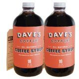 Cold brew coffee syrup.