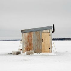 This gorgeous gallery of Canadian ice-fishing huts will have you reeling. Ice Fishing Huts, Ice Fishing Sled, Ice Fishing Gear, Fishing Shack, Fishing Tips, Fishing Quotes, Fishing Humor, Fishing Tackle, Fishing Ontario