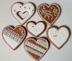 Lemon Foam: Gingerbread hearts