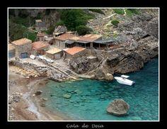 Cala de Deia Mallorca - had many a happy sundowner right here!