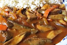 Goulash, Stuffed Mushrooms, Pork, Food And Drink, Beef, Chicken, Cooking, Health, Syrup