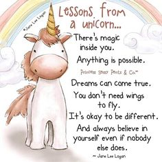 ♥ Lessons from a unicorn