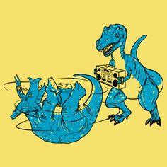 """prehistoric-b-boys"" by Jonah Block"