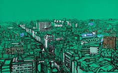 City Illustrations by Patrick Vale