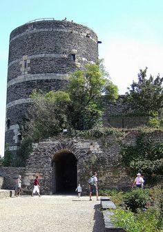 Château d'Angers (Maine-et-Loire) - Pays-de-la-Loire. . Tour du Moulin
