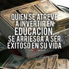 Invierte en TI la persona mas importante y en tu @exitoxminuto . . Motivacion? @exitoxminuto . . Emprender? @exitoxminuto . . Educacion? @exitoxminuto . . #exitoxminuto