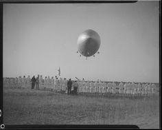 Landing at Lakehurst